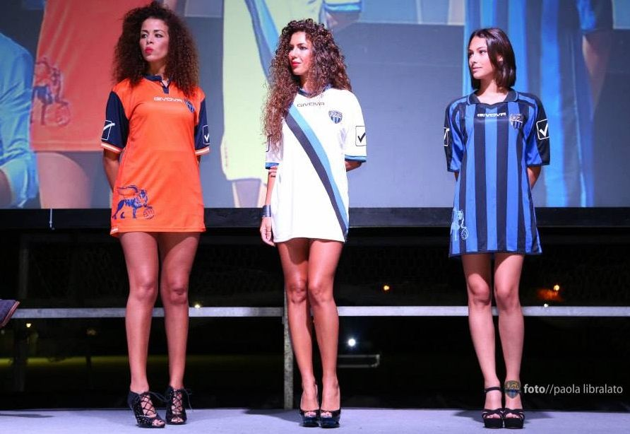 Presentazione maglie Latina 2015-2016