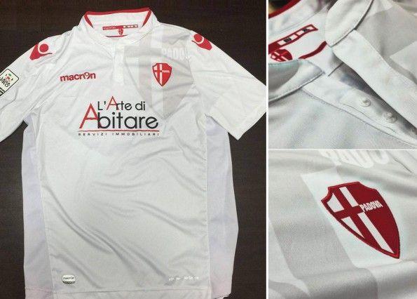 Prima maglia Calcio Padova 2015-2016