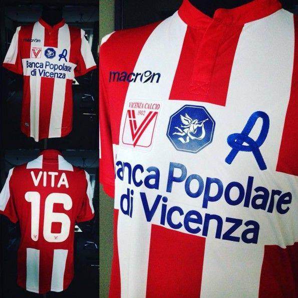 Vicenza prima maglia 2015-2016
