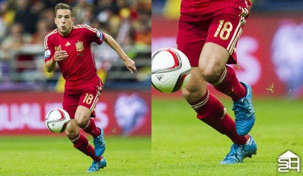 Jordi Alba (Spagna) - adidas X 15.1