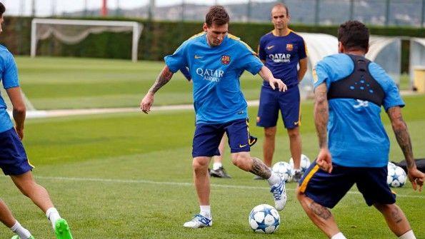 Allenamento Messi Argentina
