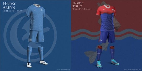 House Arryn House Tully Kit