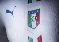 Stemma FIGC 3D maglia Italia 2016 away