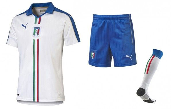 Seconda maglia Italia Europei 2016
