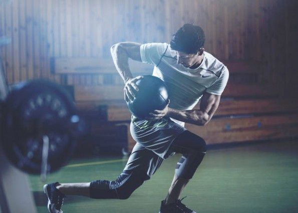 Lewandowski allenamento Nike Zoom Trainer 3