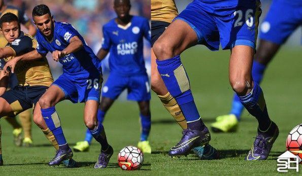 Riyad Marhez (Leicester) - Nike HyperVenom Phantom II