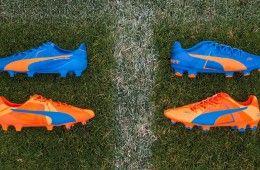 Scarpe Puma Tricks arancione blu