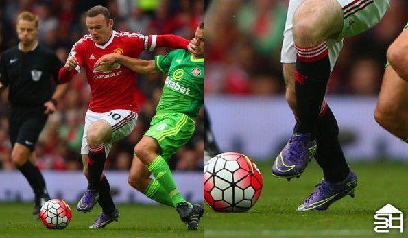 Wayne Rooney (Manchester United) - Nike HyperVenom Phinish
