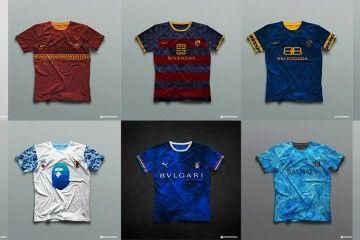 Collezione moda calcio Texeira