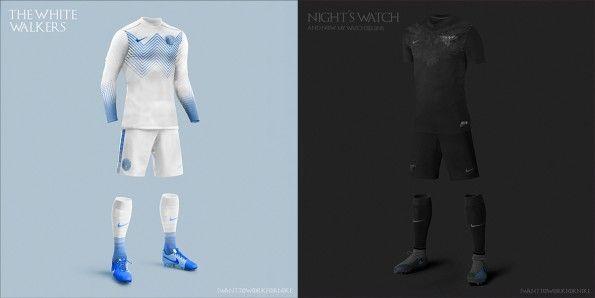 White Walkers Night's Watch Kit