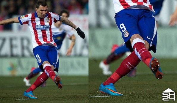 Mandzukic (Atletico Madrid) Nike Hypervenom Phantom #highlight