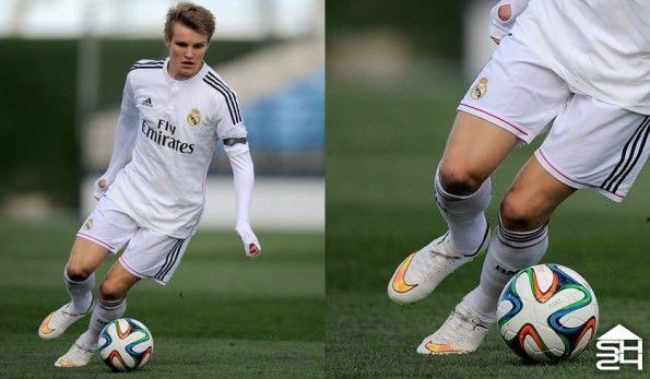 Odegaard (Real Madrid) Nike Mercurial Vapor X #whitepack