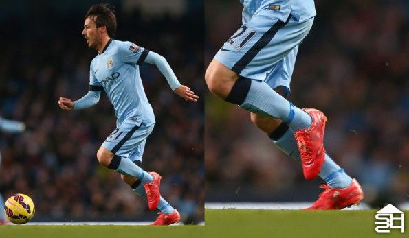 David Silva (Man City) adidas F50 adizero #therewillbehaters