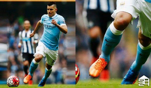 Sergio Aguero (Manchester United) - Puma evoSpeed SL H2H
