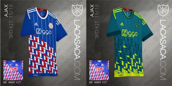 Ajax Adidas Third Kit Umbro