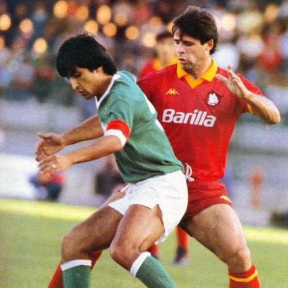 Avellino vs Roma, Serie A 1985-1986. Ramón Díaz e Sebastiano Nela