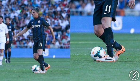 Dino Baggio scarpini Nike Tiempo Legend