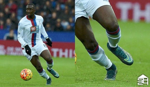 Yannick Bolasie (Crystal Palace) - Nike Mercurial Superfly IV