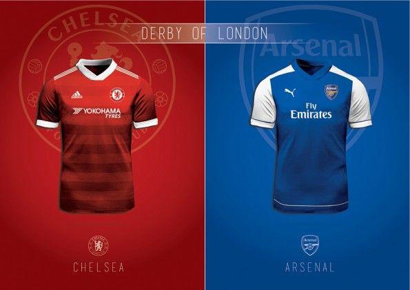 Cambio Maglia Arsenal Chelsea