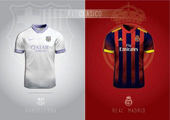 Cambio Maglia Real Madrid Barcellona