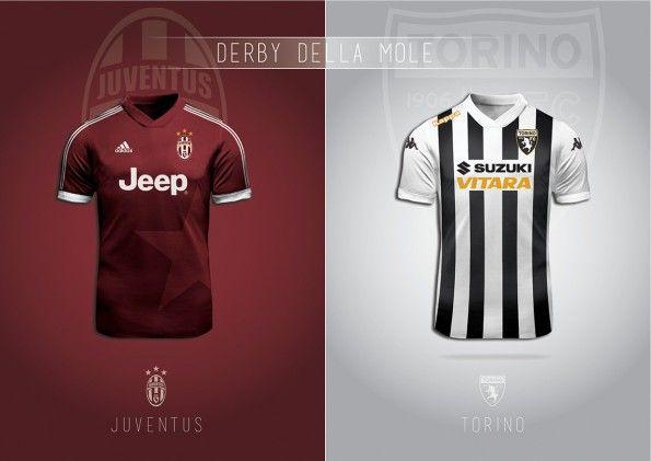 Cambio Maglia Torino Juventus