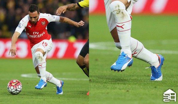 Santi Cazorla (Arsenal) - Puma evoSpeed 1.4