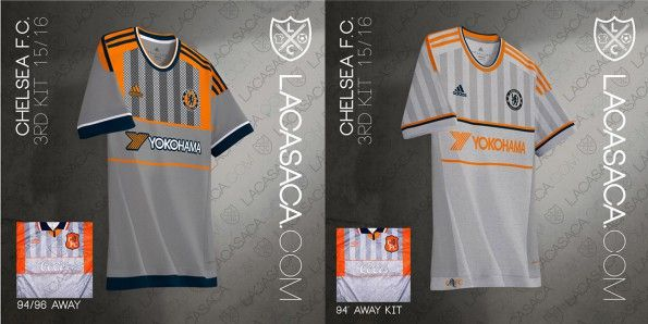 Chelsea Adidas Third Kit Umbro