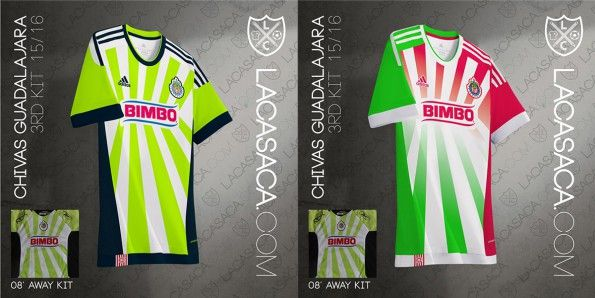 Chivas Adidas Third Kit Reebok