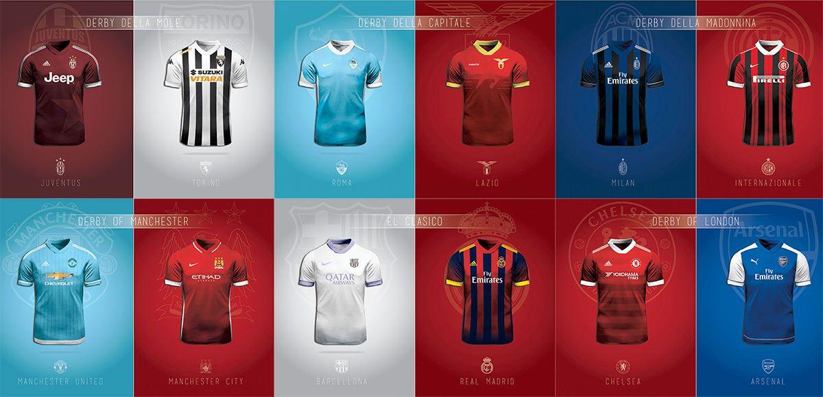 Scambio di colori fra club rivali