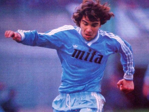 Como home 1985-1986. Stefano Borgonovo