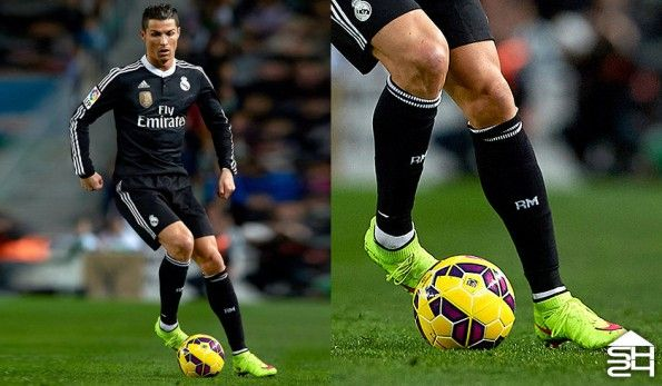 Cristiano Ronaldo (Real Madrid) Nike Mercurial Superfly IV #highlight