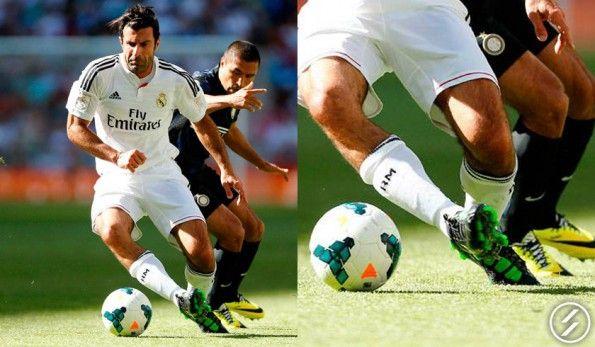 Luis Figo scarpe Nike T90 III