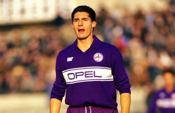 Fiorentina home 1985-1986. Daniele Massaro