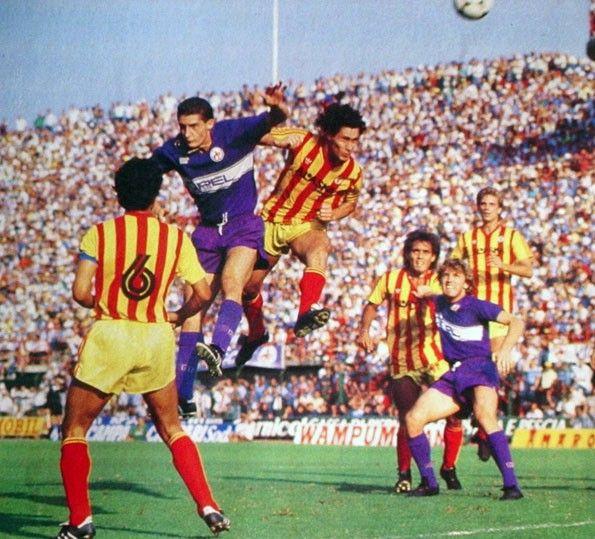 Fiorentina vs Lecce, Serie A 1985-1986