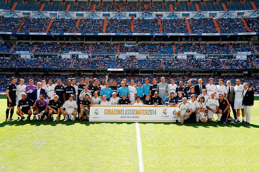 Inter Classic vs Real Madrid Legends