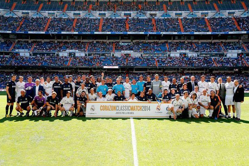 Inter Classic vs Real Madrid Legends