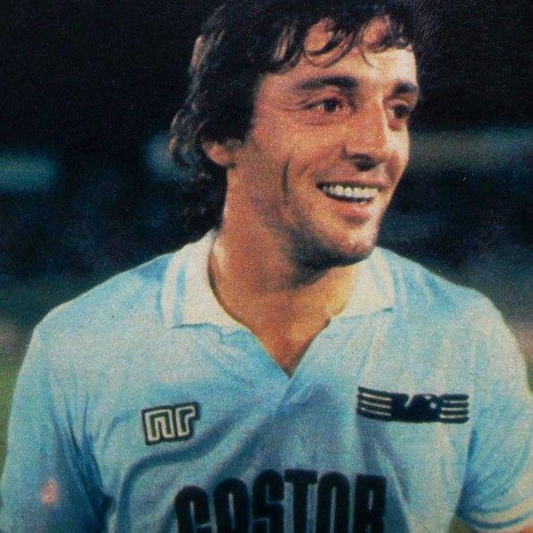 Lazio home 1985-1986. Giuliano Fiorini