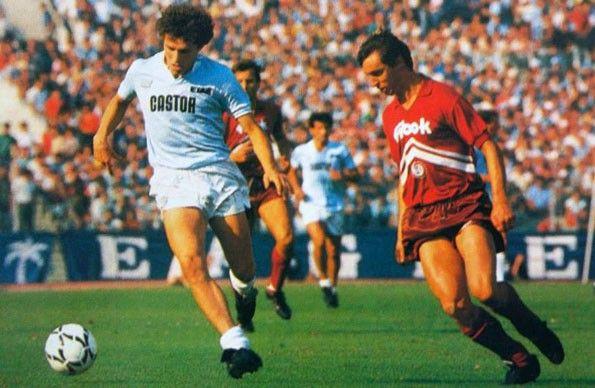 Lazio vs Arezzo, Serie B 1985-1986