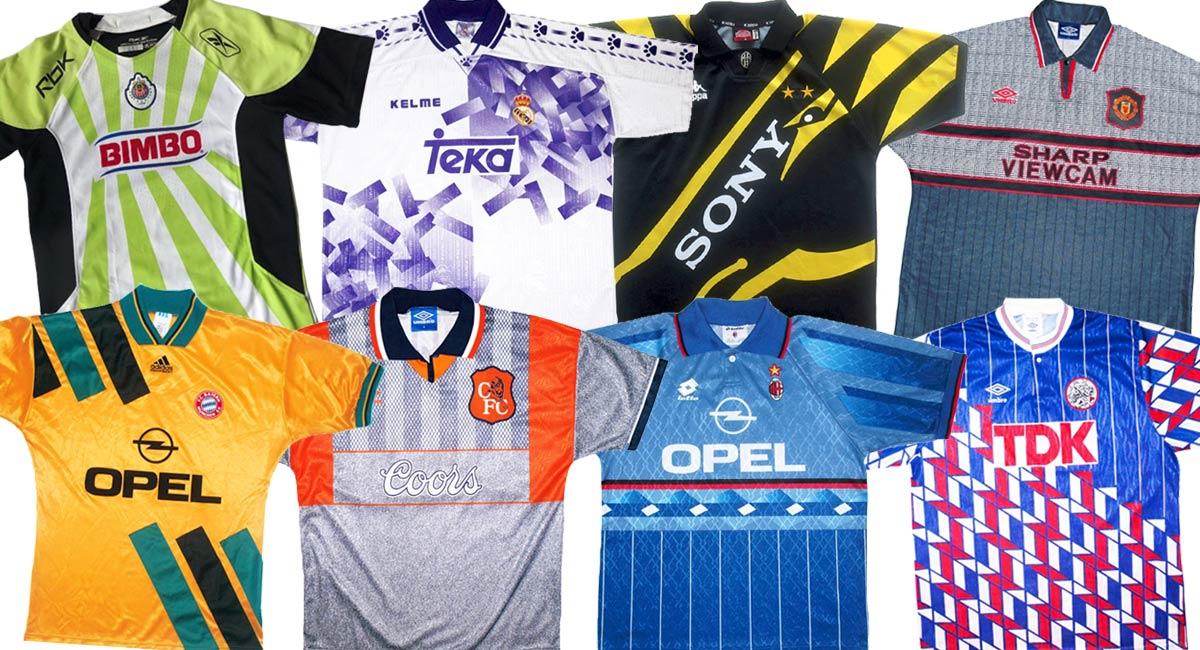 Maglie calcio anni '90