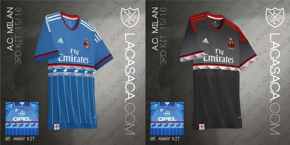 Milan Adidas Third Kit Lotto