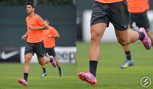 Alvaro Morata scarpini adidas F50