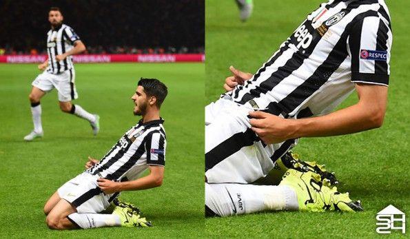 Alvaro Morata (Juventus) - adidas X15