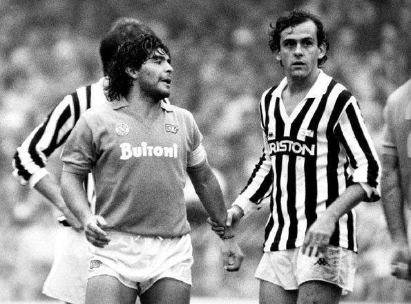 Napoli vs Juventus, Serie A 1985-1986