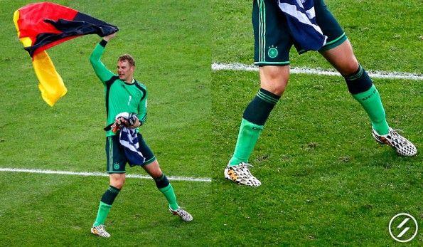Nitrocharge adidas per il portiere tedesco Neuer