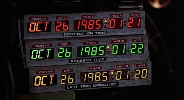 Ritrono al futuro, 26 ottobre 1985