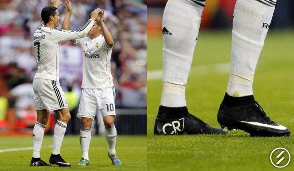 Cristiano Ronaldo scarpe CR7 Superfly nere