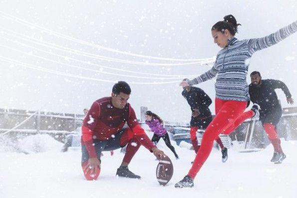 Scena campagna Nike Snow Day 2015
