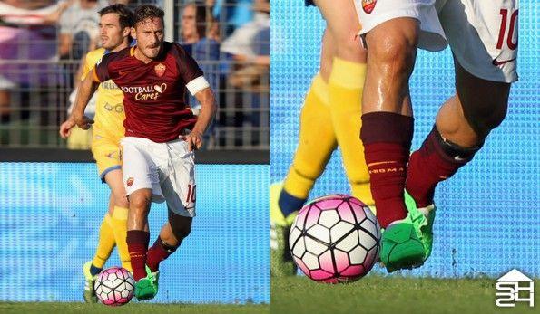 Francesco Totti (Roma) - Nike Tiempo Legend V Custom
