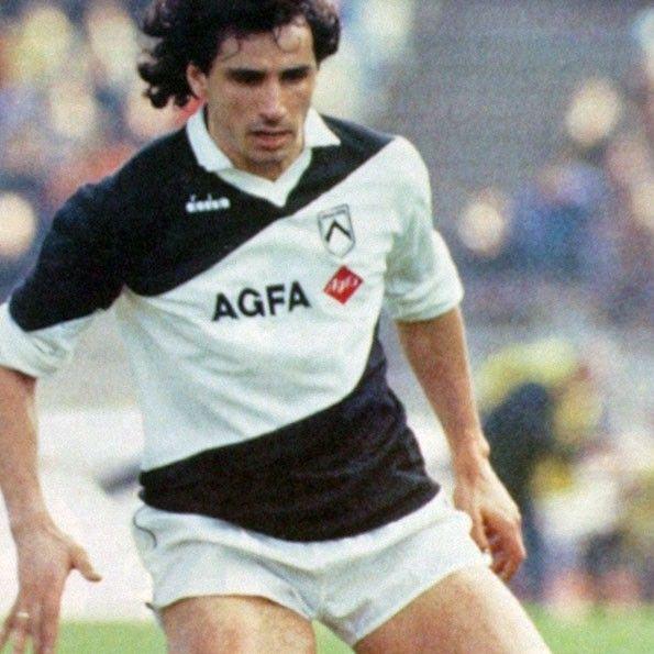 Udinese home 1985-1986. Andrera Carnevale