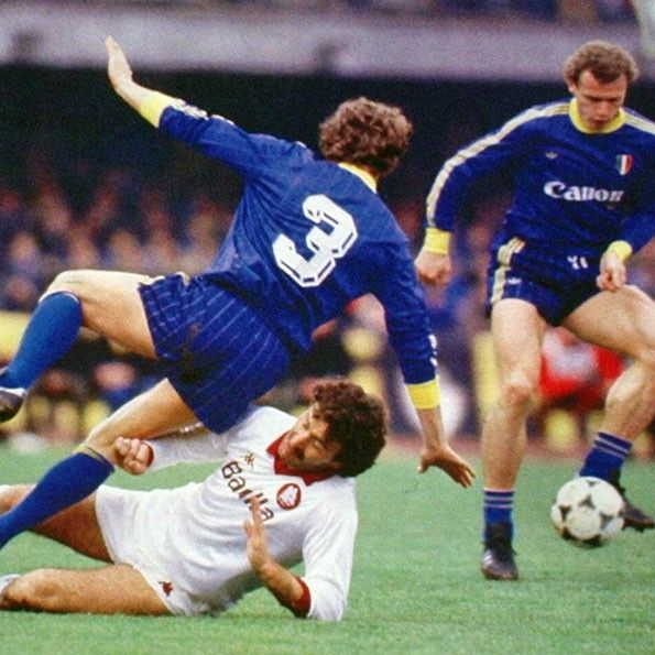 Verona vs Roma, Serie A 1985-1986